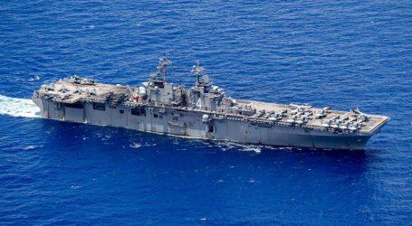 Pentagon: USS Boxer Tembak Jatuh Drone Iran di Dekat Hormuz