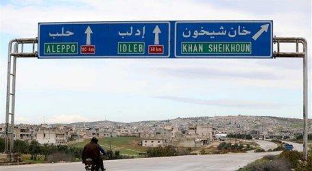 Pasukan Suriah Masuki Kota Kunci Khan Shaykhun Setelah Lima Tahun