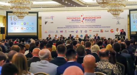 Festival Indonesia dan Forum Bisnis di Moskow