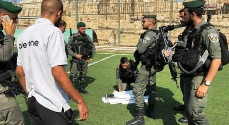 Pasukan Israel Serang Stadion di Yerusalem