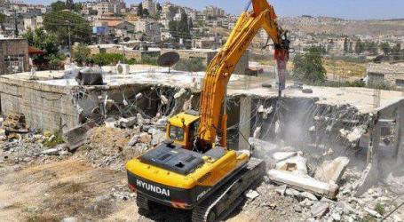 Israel Perintahkan Pembongkaran Bangunan Palestina di Yerusalem