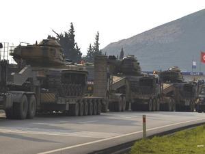 Pemerintah Suriah Marah Turki Kirim Konvoi Militer ke Khan Shaykhun
