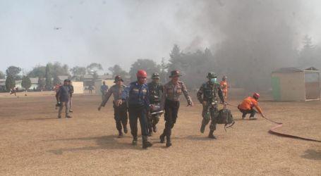 Kostrad Gelar Latihan Penanggulangan Bencana di Purwakarta