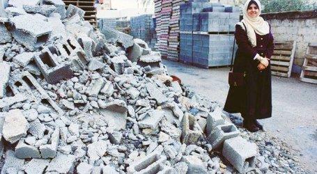 Majd Mashharawi, Insinyur Wanita yang Daur Ulang Puing-Puing Gaza
