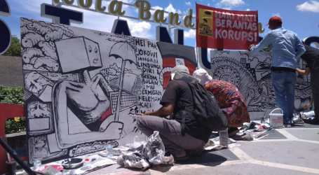 Koalisi Masyarakat Sipil di Banda Aceh Tolak RUU KPK