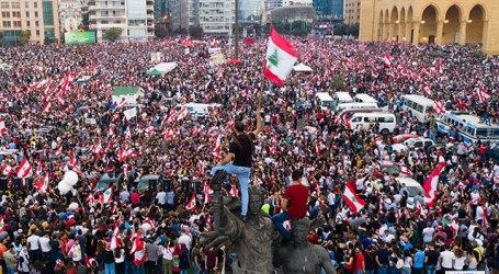 Protes di Kota-Kota Lebanon Berlanjut