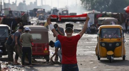 Korban Tewas Pengunjuk Rasa Irak Tembus 300 Jiwa