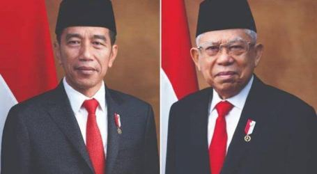 Presiden Umumkan Daftar Menteri Kabinet Indonesia Maju