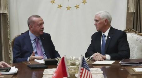 """""""Kemenangan,"""" kata Turki ; AS dan Turki Sepakati Gencatan Senjata di Suriah"""
