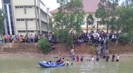Dua Mahasiswa UIN Raden Intan Tenggelam di Embung Kampus