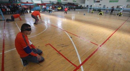 Atlet Tunanetra Gaza Ikuti Goalball Championship