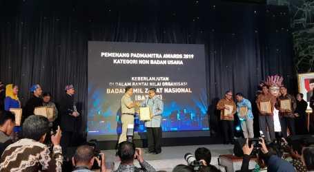 BAZNAS Raih Penghargaan Padmamitra Award dari Pemprov DKI