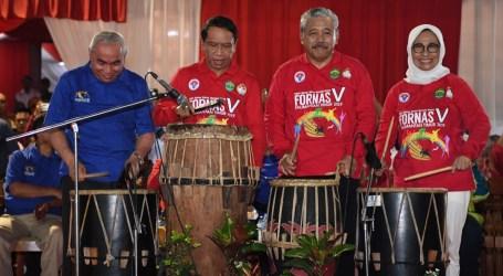 Menpora Buka Festival Olahraga Rekreasi Nasional V 2019 di Kaltim