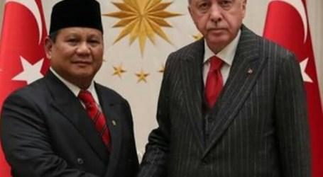 Erdogan Terima Kunjungan Prabowo di Ankara