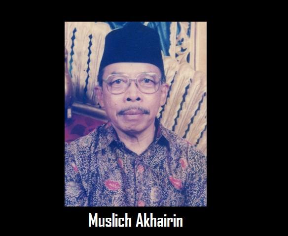 Muslich Akhairin Guru Yang Bijak Ikhlas Dan Berwawasan