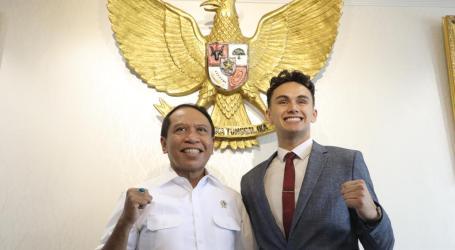 Menpora Sambut Baik Tekad Luis Leeds Bawa Indonesia di Ajang F1