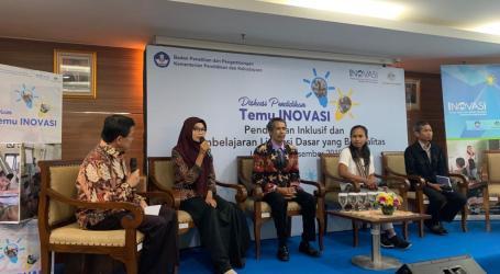 Balitbang Kemendikbud dan Forum Temu Inovasi Diskusi Pendidikan Inklusif