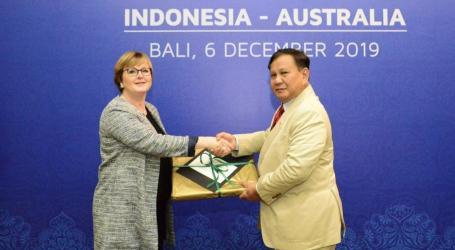 Menhan RI dan Menhan Australia Bahas Kerjasama Pertahanan