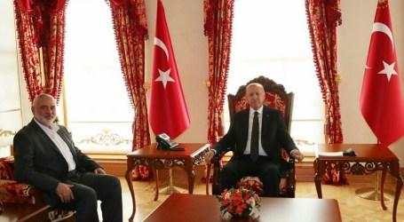 Erdogan Terima Kunjungan Delegasi Hamas