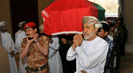 AS, Inggris, Italia Ucapkan Duka atas Kematian Sultan Qaboos