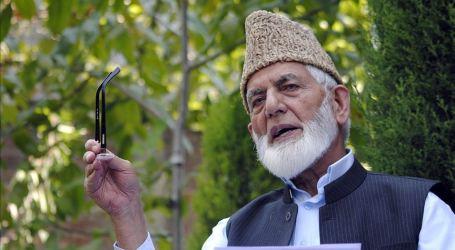 Internet Pulih di Kashmir Menyusul Rumor Kesehatan Geelani