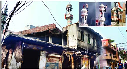 Kerusuhan New Delhi: 170 Laporan Pembakaran