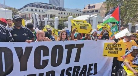 Warga Afsel Lakukan Aksi Dukung Palestina TolakTrump