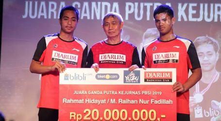 Rahmat Hidayat Raih Penghargaan Atlet Muda Berprestasi Sepanjang 2019