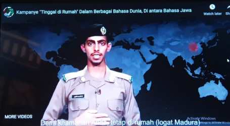 "Kepolisian Makkah Imbau ""Tinggal di Rumah"" dengan Dialek Jawatimuran"