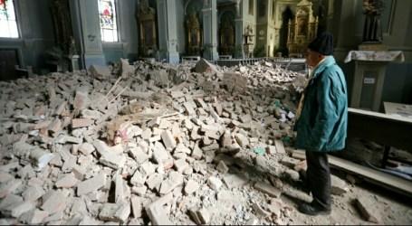 Kroasia Diguncang Gempa Dahsyat Ditengah Ancaman COVID-19