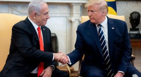 Trump Ucapkan Selamat kepada Netanyahu yang akan Bentuk Pemerintahan Baru