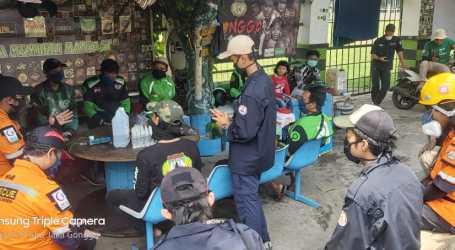 Cegah Covid-19, Wahana Muda Indonesia Edukasi Driver Ojol