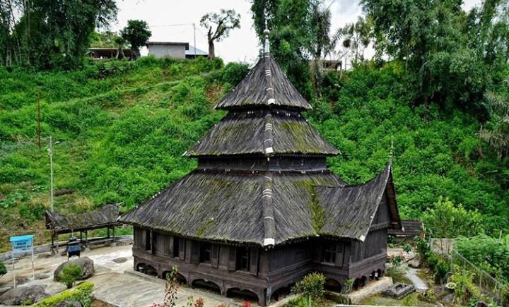Masjid tertua di Sumatera Barat