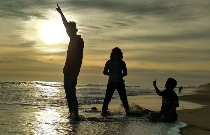 Lokasi pantai Arta pariaman