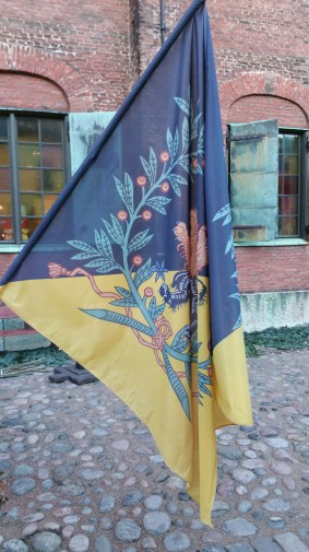 Skaraborgs regementes fana