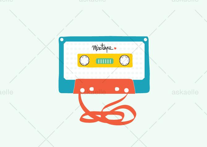 mixtape_illustration_askaelle_minasan_portfolio