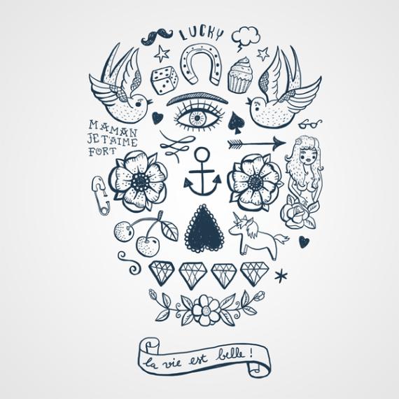 tattoo-la-vie-est-belle-visuel-bernard-forever