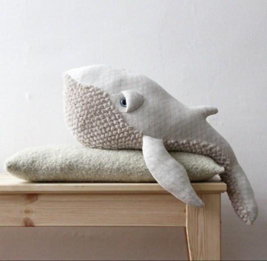 Peluche baleine Big Stuffed
