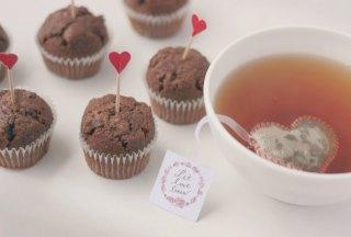 Sachets de thé en forme de coeur - Tea Heritage