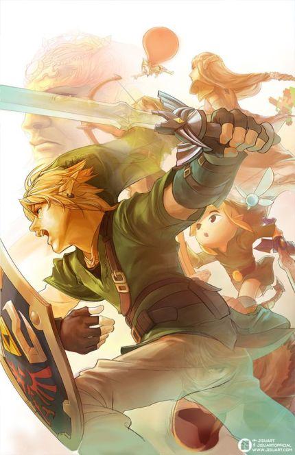Legend of Zelda by JisuArt