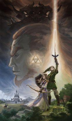 The Legend of Zelda A Tribute by Gjaldir