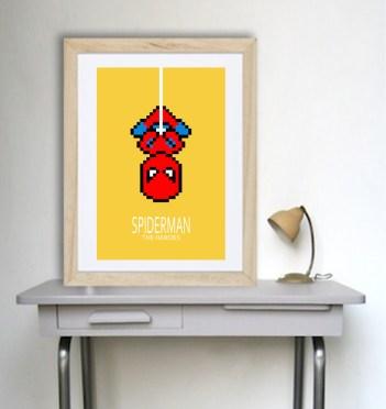 decoration-enfants-affiches-spiderman