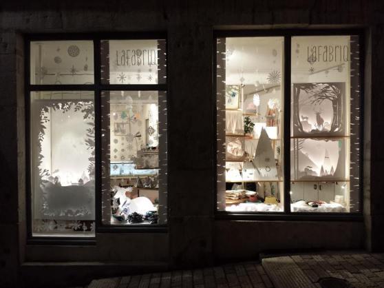 Lafabriq, vitrine de Noël