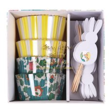 Kit cupcakes lapins Pâques