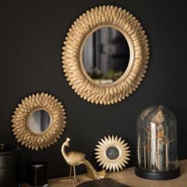 miroir-rond-dore