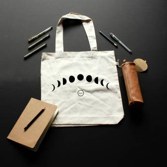 Totebag Phase Lunaire