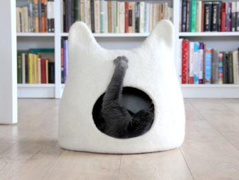 grotte chat feutrine