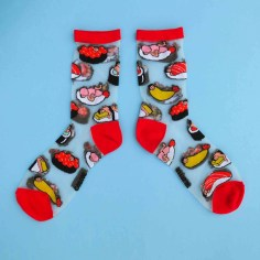 chaussettes homme-sushi