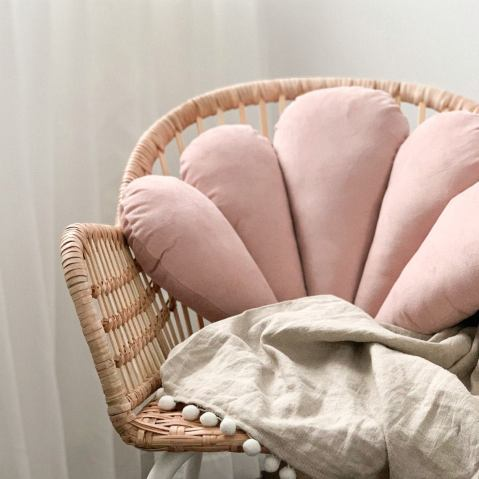 Coussin coquillage