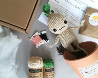 DIY crochet Mandragore